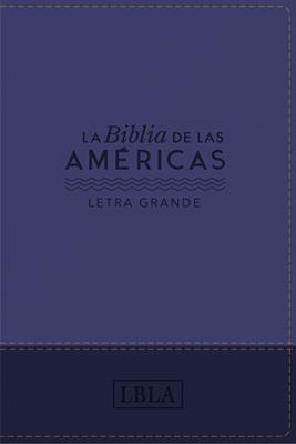Biblia De Las Américas (Imitación Piel Azul)