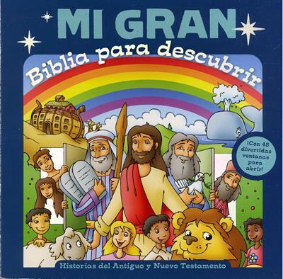 Mi Gran Biblia para Descubrir (Tapa Dura) [Biblia]