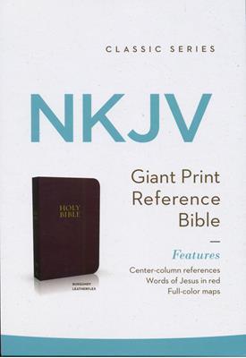 Biblia en Inglés NKJV Letra Grande (Imitación Piel (Vinilo)) [Biblia]
