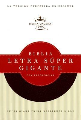 Biblia Letra Super Gigante Referencias Imitación Piel Negro (Imitacion Piel ) [Biblia]