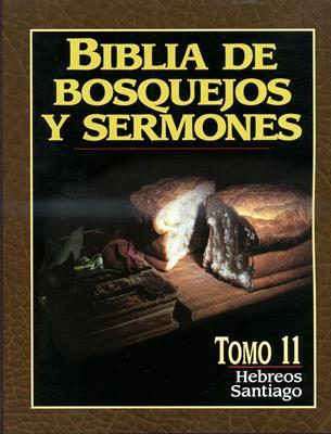 Biblia de bosquejos y sermones - Hebreos , Santiago (Rústica) [Comentario]