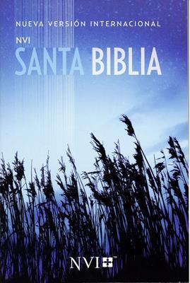 Santa Biblia NVI Misionera Azul (Rustica) [Biblia]