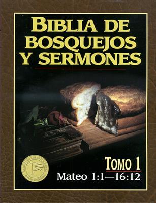 Biblia de bosquejos y sermones - Mateo 1:1 -16:12 (Rústica) [Comentario]