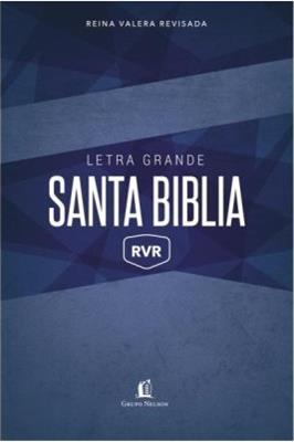 Biblia Letra Grande Azul (Rustica) [Biblia]