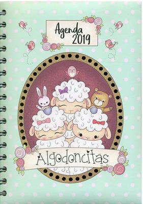 Agenda Algodoncitas Argollada (Tapa Dura)