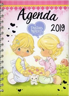 Agenda Precious Moments Argollada (Tapa Dura)
