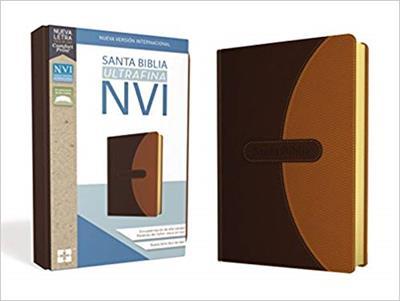 Biblia NVI Ultrafina/Cafe (Piel Especial)