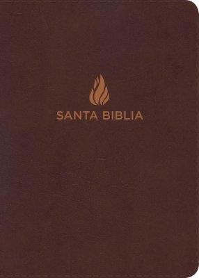 Biblia Letra Grande Marrón Piel Fabricada (Imitacion Piel ) [Biblia]