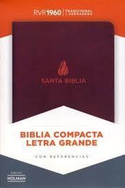Biblia Compacta Marrón Imitación Piel (Imitación Piel) [Biblia]