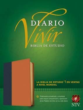 Biblia NTV/Estudio Diario Vivir (Imitación Piel )