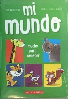 Mi Mundo (Rústica) [Cartilla]