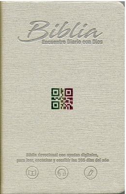 Biblia RVC Tamaño 065 Encuentro Diario con Dios (Imitación Piel) [Biblia]