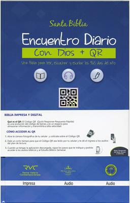 Biblia RVC Tamaño 063  Encuentro Diario (Tapa Dura) [Biblia]