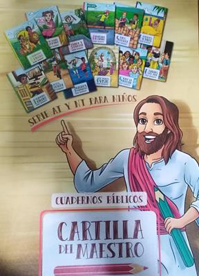 Cartilla Del Maestro Antiguo y Nuevo Testamento (Plastificado)