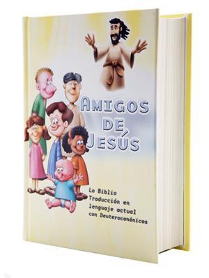 Biblia TLA Amigos de Jesus con Deuterocanonicos (Tapa Dura Imágenes) [Bíblia]