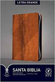 Biblia Edición Ziper Imitación Piel Cafe (Imitación Piel) [Biblia]