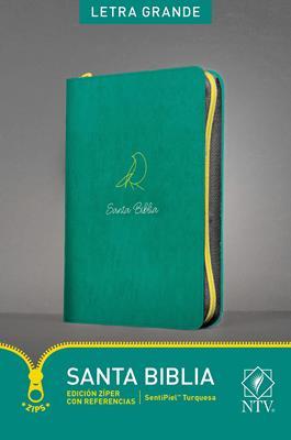 Biblia Edición Ziper Imitación Piel Turquesa (Imitación Piel) [Biblia]