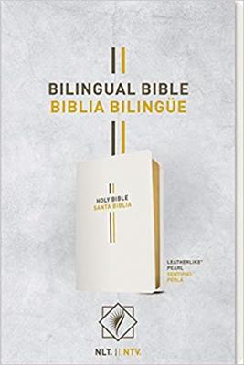 Biblia Bilingüe Imitación Piel  Perla (Imitación Piel) [Bíblia]
