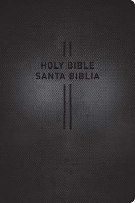 Biblia Bilingue NLT - NTV Senti PielNegro (Imitación Piel)