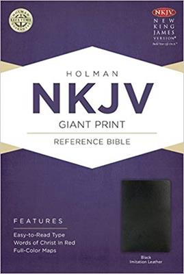 Biblia NKJV-Imitacion Piel- Negra (Imitacion Piel )