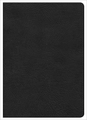 Biblia Letra Grande Negra Ingles (Imitación Piel) [Biblia]
