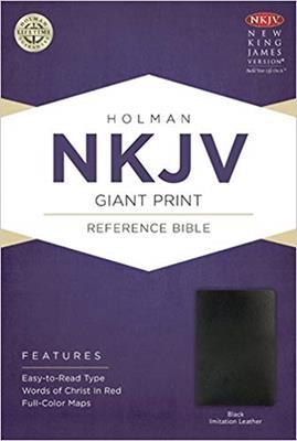 Biblia NKJV-Letra Grande (Imitacion Piel )
