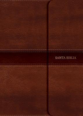 Biblia NVI-Tamaño Manual-Letra Grande-Marron-Solapa Con Iman (Simil Piel)