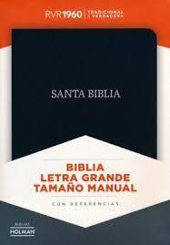 Biblia Negro Piel Fabricada (Imitación Piel) [Biblia]