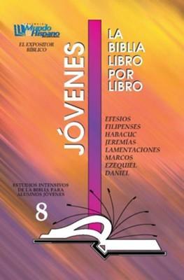 Biblia Libro Por Libro Jóvenes Alumno 08 (Flexible Rustica Gráfico) [Manual de estudio]