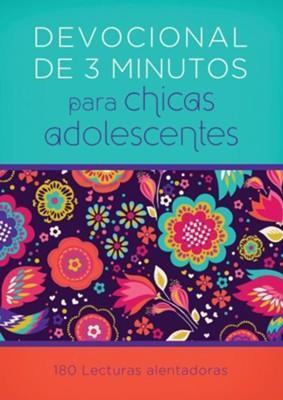 Devocionales De 3 Minutos Para Chicas Adolescentes (Rustica) [Bolsilibro]