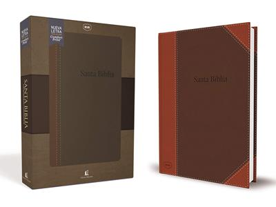 Biblia RVRevisada Referencias y Concordancia (Flexible Imitación Piel Café) [Bíblia]