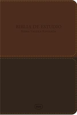 Biblia De Estudio Imitación Piel Café (Imitación Piel) [Biblia]