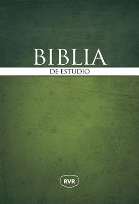 Biblia De Estudio Tapa Dura (Tapa Dura) [Biblia]