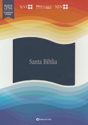 Biblias Bilingüe Azul Imitación Piel (Imitación Piel) [Biblia]