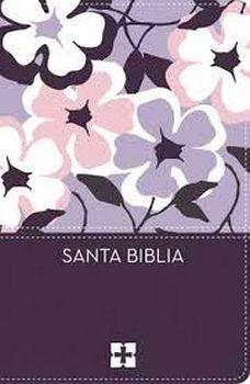 Biblia Ultrafina Compacta Flores (Imitacion Piel ) [Biblia]