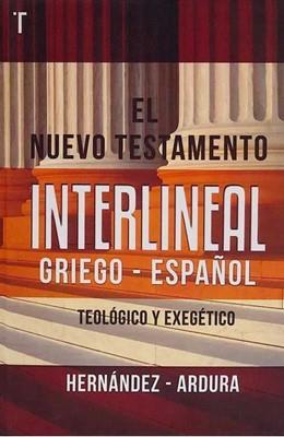 Nuevo Testamento Interlinea Griego-Español (Tapa Dura) [Comentario]