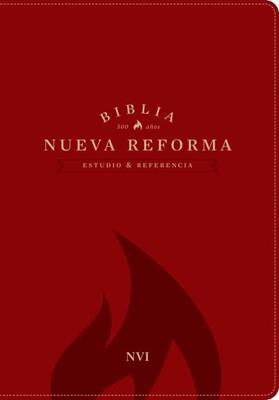 Biblia De Estudio Nueva Reforma - Roja (Piel Especial) [Biblia]