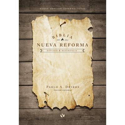 Biblia De Estudio NVI Nueva Reforma Tapa Dura (Tapa Dura Imagen) [Biblia de Estudio]