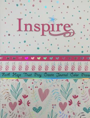 Biblia Inspire For Girls (Rústica) [Biblia]
