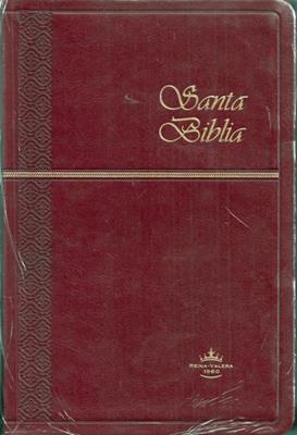 Biblia Tamaño 065CZTI Imitación Piel Vinotinto (Imitación Piel) [Biblia]