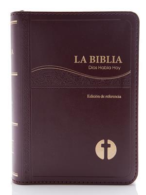 Biblia DHH025 Deuterocanonicos Vino (Piel) [Biblia]