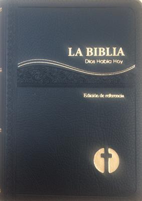 Biblia DHH25DZ Negro (Imitación Piel) [Biblia]