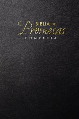 Biblia De Promesas Rustica Negro Letra Grande (Rústica) [Biblia]