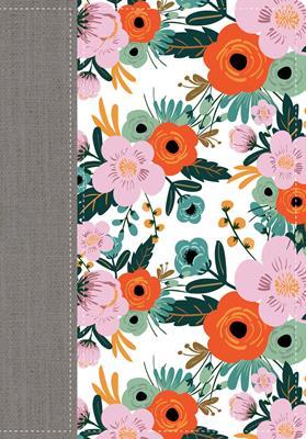 Biblia De La Mujer Conforme Al Corazón Edición Limitada Flores (Imitacion Piel ) [Biblia]