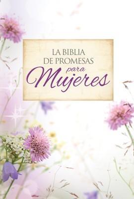 Biblia De Promesas Letra Grande Piel Especial Floral (Imitación Piel) [Biblia]