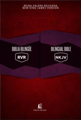 Biblia Bilingue RVR-NKJ-Rojo (Tapa dura)
