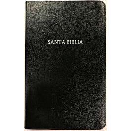 Biblia RVR60-Ultrafina-Negro (Piel Fabricada)