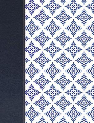Biblia De Apuntes-NVI-Blanco Y Azul Simil Piel (Simil Piel )