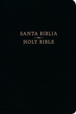Biblia Bilingue RVR60 CSB Negro (Imitacion Piel )