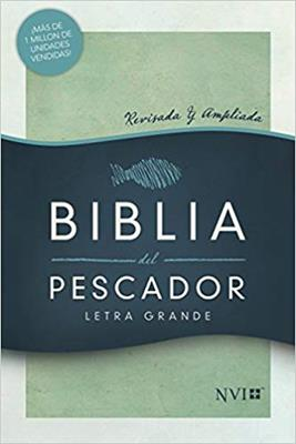 Biblia Del Pescador-NVI-Letra Grande-Verde (Tapa dura)